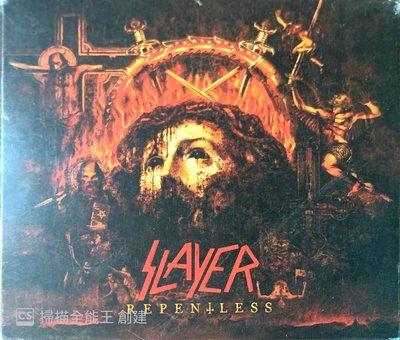 【搖滾帝國】美國鞭擊(Thrash)金屬樂團SLAYER Repentless 2015年進口CD+DVD Digi專輯