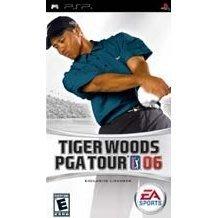 PSP亞版中古品~ Tiger Woods老虎伍茲2006 PGA巡迴賽(英文版)