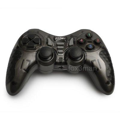 6 IN 1 2.4G Wireless GamePad 黑金剛 無線多功能電玩手制 支援電腦及PS3遊戲機 WIN 10