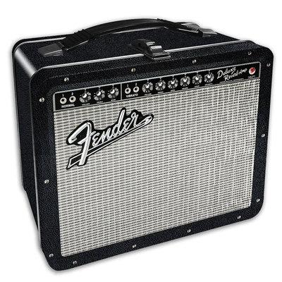 [Paradise]Fender Guitar Amp Tin Tote - Fender 吉他擴大機 錫製野餐盒