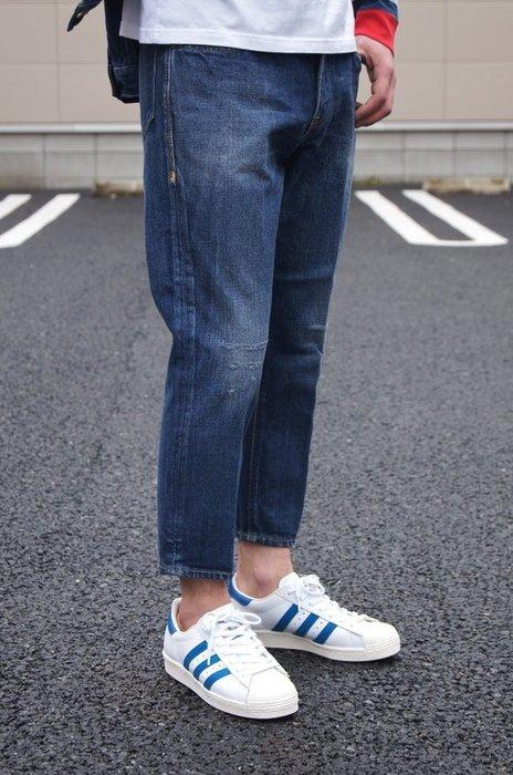 「NSS』CANTON BEDWIN 9/L DENIM PANTS F JESSEE 九分 破壞 牛仔褲 3