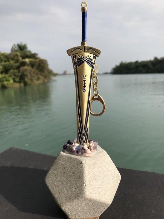 石中劍之黃金聖劍拆信刀(22cm黃金聖劍)--石中寶劍象徵鎮妖除魔防小人.辦公室必備