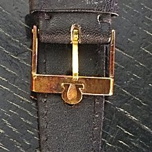 NEW OLD STOCK Omega GP buckle with 18mm original band