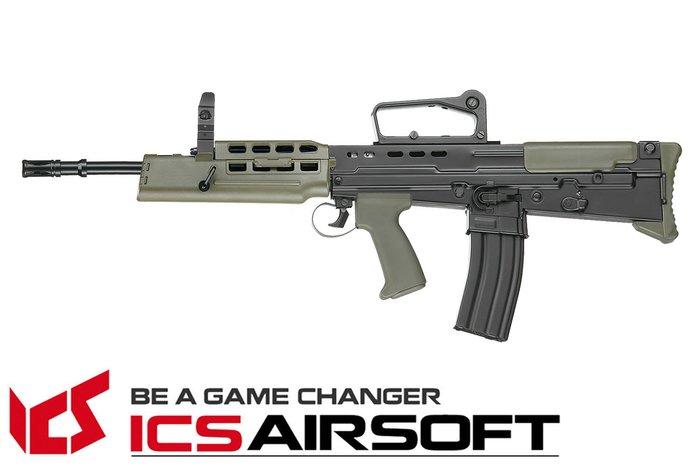 【翔準軍品AOG】ICS L85 A2突擊步槍(雙色) 突擊步槍 電動槍 全金屬 生存遊戲 ICS-85