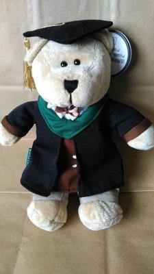 含運費1580元~STARBUCKS星巴克咖啡2016年制服小熊寶寶-畢業學士熊GRADUATION BEAR~季節限定
