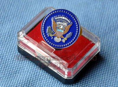 收藏品 美國總統/President Of The UnitedStates 金屬胸針/徽章