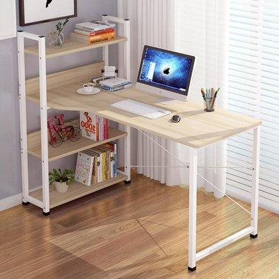 電腦台式桌家用簡約經濟型臥室書桌一體小桌子簡易寫字台學習桌QM