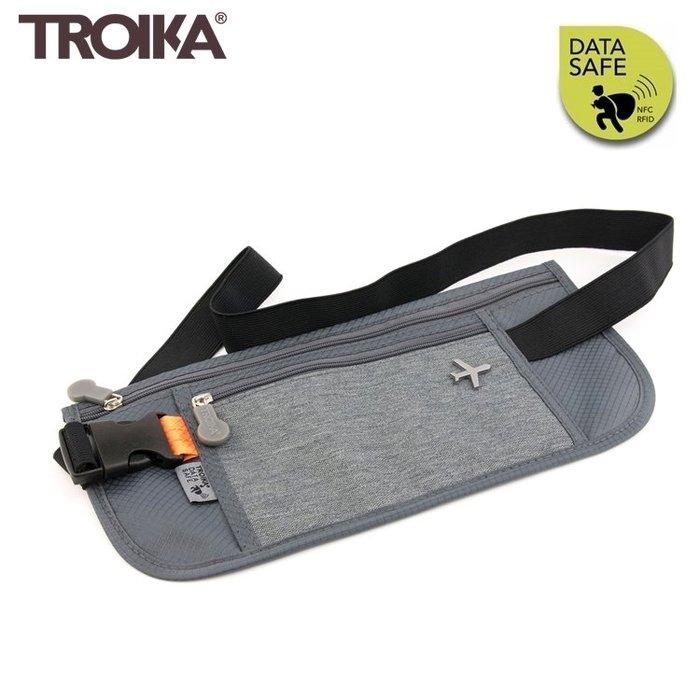 又敗家@德國TROIKA防RFID-NFC信用卡袋防盜隨身貼身包BLB20系列防感應護照包防感應錢包防盜刷側錄信用卡包包