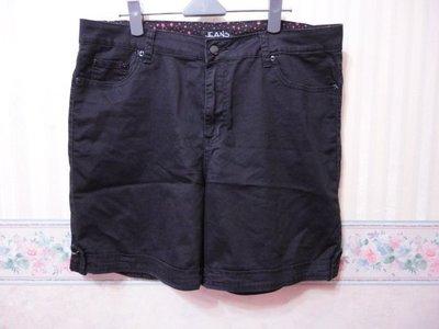 一元起標~Diamond cut~可愛猴設計口袋彈性短褲~SIZE:3L(大尺碼)