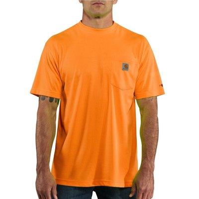 Carhartt 100493 Pocket T-Shirt 亮橘 尺寸M 排汗材質 全新 現貨