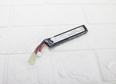 [01] 7.4V 鋰電池 口香糖(鋰鐵充電電池EBB AEG 電動槍AR步槍M4 後托BB槍BB彈玩具槍長槍模型416