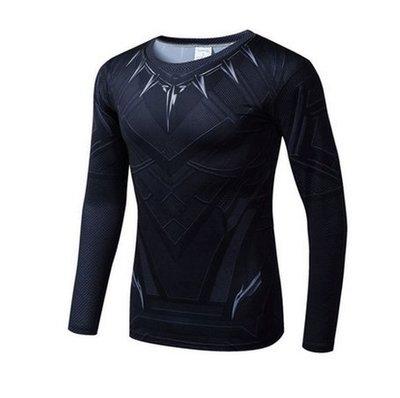 鋼鐵俠緊身衣男PRO運動彈力速幹衣塑形訓練排汗跑步健身長袖