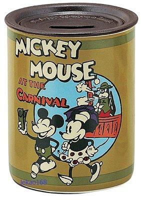 日本Disney米奇米妮陶瓷復古存錢筒日本製組 [ 清倉大特價  ]