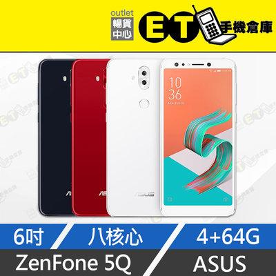 ET手機倉庫【拆新品 ASUS ZENFONE 5Q 64G】ZC600KL 黑(6吋、華碩)附發票
