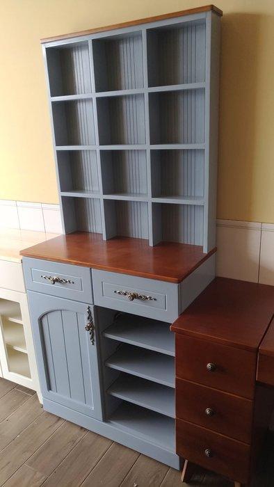 戀戀小木屋  玄關鞋櫃   隔間櫃  低調灰藍色鞋櫃  現貨中