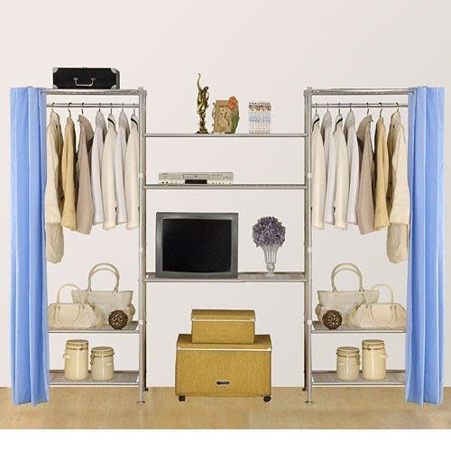 【中華批發網DIY家具】D-58-03-W3型60+90+60公分置物架---可升級成完全防塵置物架