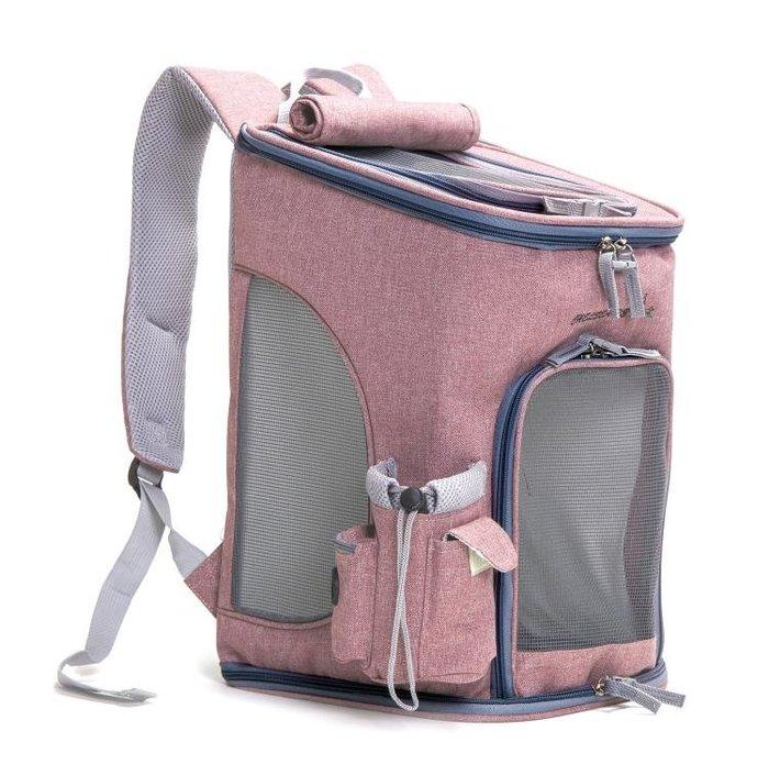 航空箱 寵物背包夏季透氣貓包外出包泰迪可折疊便攜雙肩包狗狗背包貓背包T