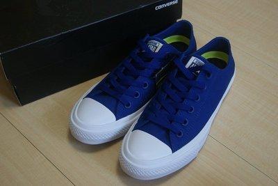 GOGO SHOP☆Converse 二代帆布鞋 All Star II 2帆布鞋 二代低筒經典平底鞋匡威二代男女情侶鞋