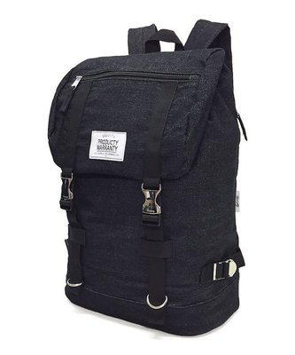 【Mr.Japan】日本限定 PRODUCTY WARRANTY 後背包 雙排扣 側邊拉鍊 包包 包 黑x亮點 預購款
