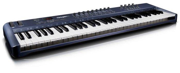 【名人樂器】最新一代 M-Audio Oxygen 61 USB主控鍵盤 * 公司貨保固售後服務有保障