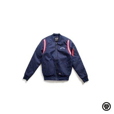 (MARVELOUS)SQUAD 槍帶MA1 外套 SQUAD Stripe/Ring MA1 Jacket 深藍色