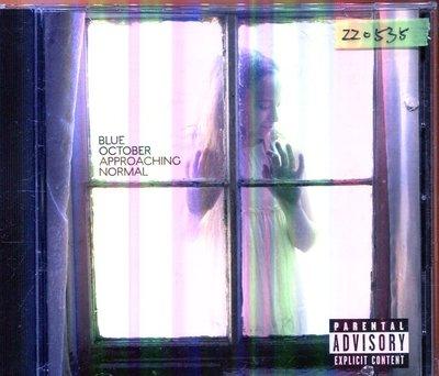 *還有唱片三館* BLUE OCTOBER / APPROACHING NORMAL 二手 ZZ0535 (封面底破)