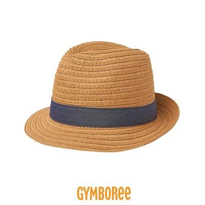 現貨!美國進口 ✈ Gymboree 健寶園・兒童帽 編織草帽 遮陽帽 防曬帽 紳士帽 -夏日丹寧