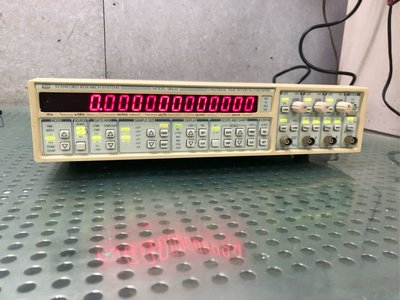 STANFORD RESEARCH SYSTEMS SRS SR620 TIME INTERVAL FREQUENCY COUNTER 計頻器(示波器)