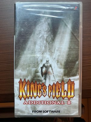 PSP 遊戲片 King's field Additional 2 國王密令