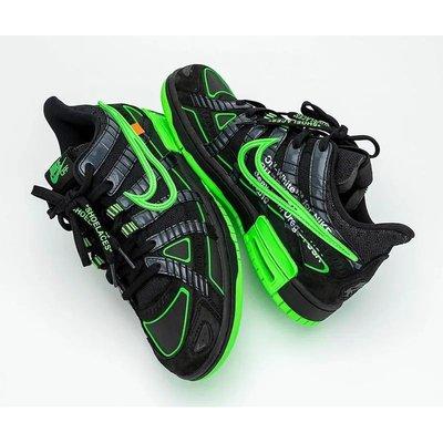 日本代購【BS】Nike Air Rubber Dunk Off-White Green Strike CU6015-001