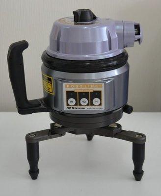 【宏盛測量儀器】日本製RIZUMU CP-S80 磨積貼壁 紅光 電子式 雷射水平儀/墨線儀 ~ 下標前請確認貨況