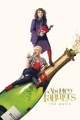 【藍光電影】荒唐阿姨大電影 Absolutely Fabulous:The Movie (2016) 102-011