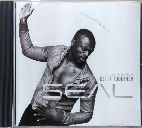 《絕版專賣》Seal 席爾 / Get It Together 單曲 (美版)