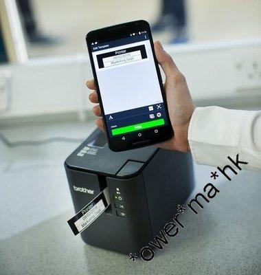 太子店 Brother PTP900W網路型超高速專業無線行動標籤機wireless Label Printer  香港行貨/可批發