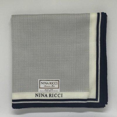 日本製 專櫃正品 NINA RICCI 手帕 方巾 毛巾 絲巾