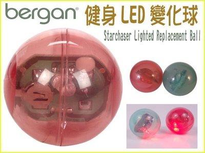 【李小貓之家】美國Bergan《健身LED變化球‧兩色》觸碰即會發出閃光吸引貓貓玩耍【單顆】