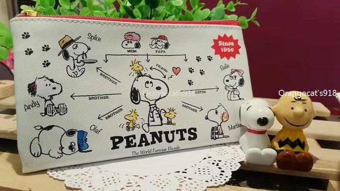 日本 正版 snoopy 甜點款/族譜款 防水 萬用包 化妝包 證件包 收納包 史努比 萬用包 化妝包 小物包 票據包
