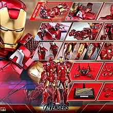 訂單 Hottoys Hot Toys Diecast Ironman Iron Man Mark 7 VII (普通版)