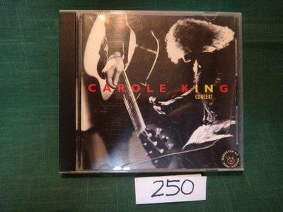 【愛悅二手書坊 CD-A2B】CAROLE KING - HARD ROCK CAF?