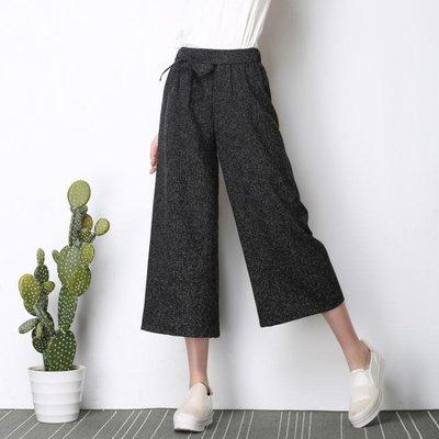中大尺碼 寬褲女春秋季學生韓版寬鬆休閒褲大碼直筒褲 nm1416