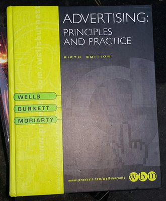 ADVERTISING PRINCIPLE AND PRACTICE   /2手