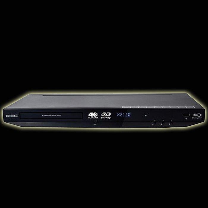 5Cgo【發燒友】BDP-G4350 4K 3D藍光播放機DVD影碟機高清硬碟播放器碟片全解 3D播放 含稅