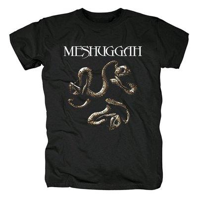 Meshuggah歐美死亡金屬流行音樂重金屬Heavy Metal搖滾紀念t恤