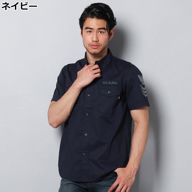☆AirRoom☆【現貨】2016SS 日版 Alpha 軍襯衫 TS5018 軍綠 藍色 兩色 熱門 短袖 限量