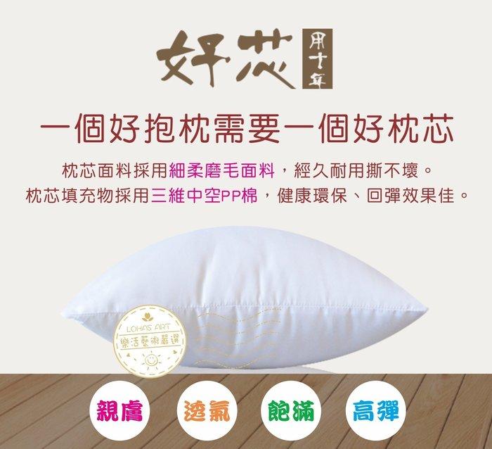 「樂活藝術」~【現貨】枕芯加購專區:45x45cm及44x44cm抱枕套專用枕芯【AT100A】