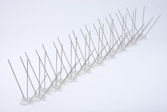 「香港商莊臣」SafePRO不銹鋼防鳥刺∕驅鳥刺 (60CM/支)-整箱25支訂購區