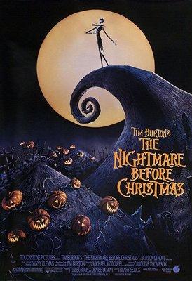 聖誕夜驚魂-Tim Burton's The Nightmare Before Christmas (1993)原版電影海報