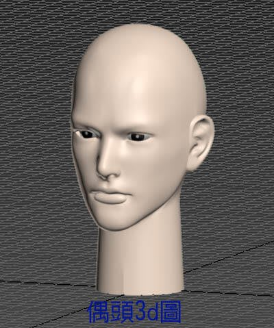 3d列印PLA材質布袋戲仙俠電玩動漫風格帥哥偶頭A組合套件買一組送試做套件一組