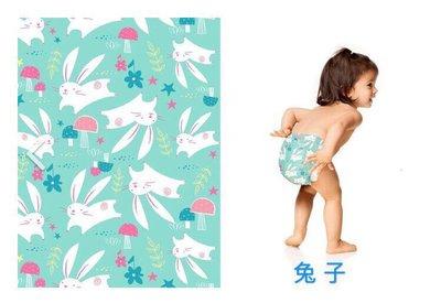 【美國預購】The Honest 環保 有機 無毒  寶寶尿布 -兔子