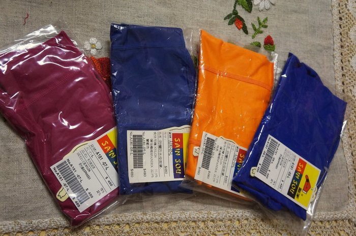 Kini新色到-泳渡防曬泳具-聖手SANSOU-游泳萊卡薄面罩(臉基尼-八色)-素面/台灣製-特價390元
